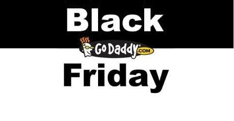 GoDaddy Black Friday and Cyber Monday Sale 2013
