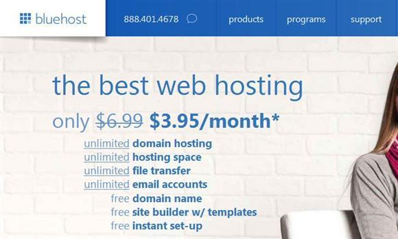 Bluehost New Year Sale 40 percent Off